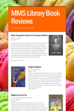 MMS Library Book Reviews