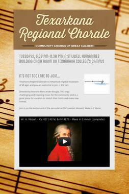 Texarkana Regional Chorale