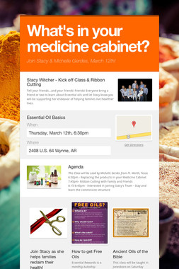 What's in your medicine cabinet?