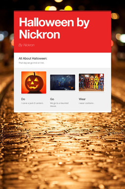 Halloween by Nickron