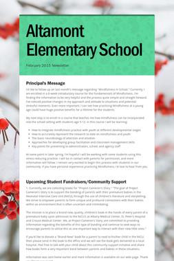 Altamont Elementary School