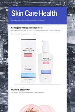Skin Care Health