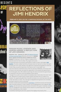 Reflections of Jimi Hendrix