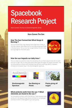 Spacebook Research Project