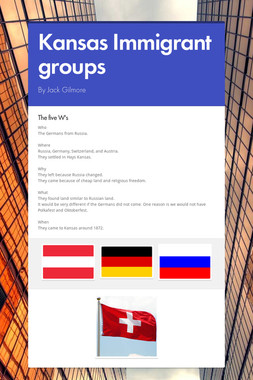 Kansas Immigrant groups
