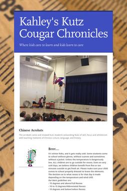 Kahley's Kutz Cougar Chronicles