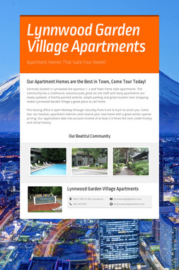Lynnwood Garden Village Apartments