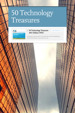 50 Technology Treasures