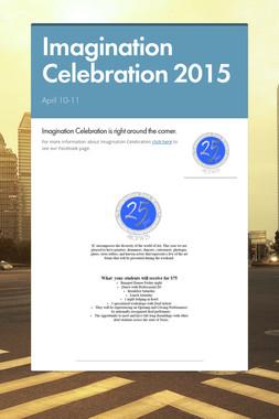Imagination Celebration 2015