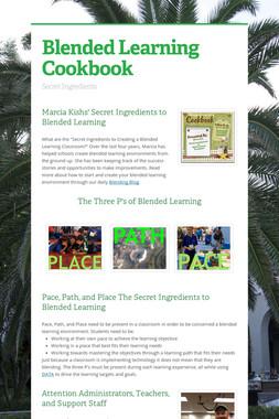 Blended Learning Cookbook