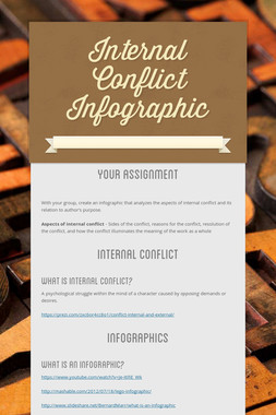 Internal Conflict Infographic