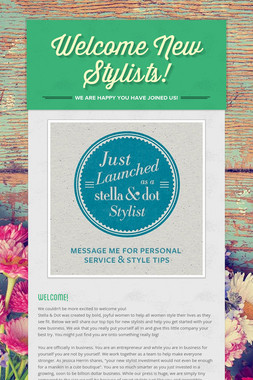 Welcome New Stylists!