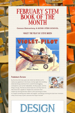 FEBRUARY STEM BOOK OF THE MONTH