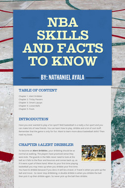NBA Skills and Facts to Know