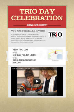 TRIO Day Celebration