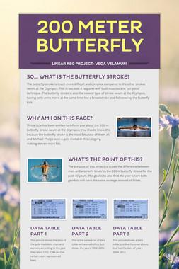 200 Meter Butterfly