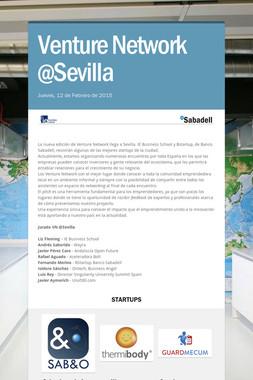 Venture Network @Sevilla