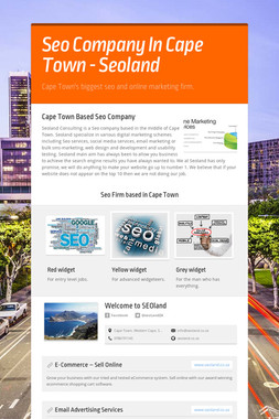 Seo Company In Cape Town - Seoland