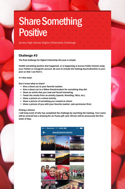 Share Something Positive