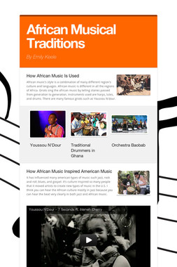 African Musical Traditions