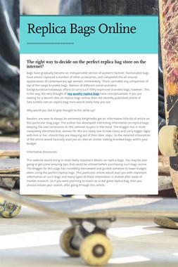 Replica Bags Online