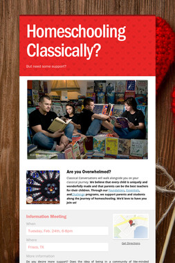 Homeschooling Classically?