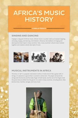 Africa's Music History