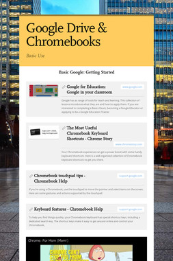 Google Drive & Chromebooks