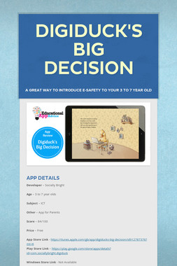 Digiduck's Big Decision