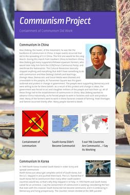 Communism Project