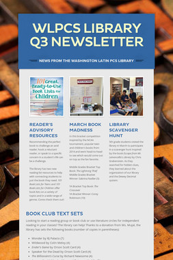 WLPCS Library Q3 Newsletter