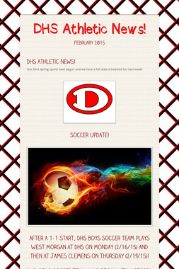 DHS Athletic News!