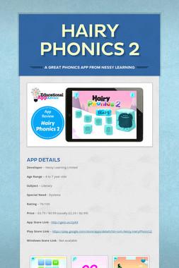 Hairy Phonics 2