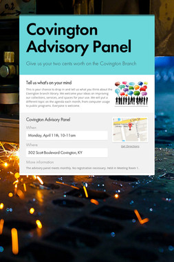 Covington Advisory Panel