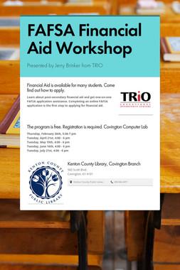 FAFSA Financial Aid Workshop