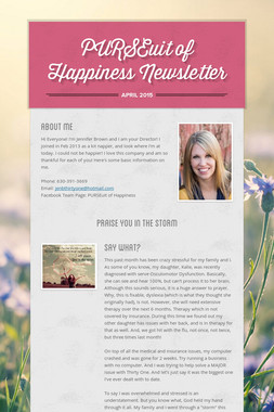 PURSEuit of Happiness Newsletter