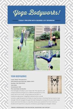 Yoga Bodyworks!
