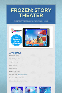 Frozen: Story Theater