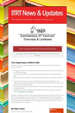 ITRT News & Updates