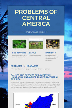 Problems Of Central America