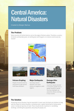 Central America: Natural Disasters