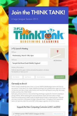Join the THINK TANK!