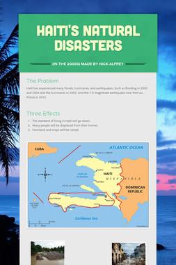 Haiti's Natural Disasters