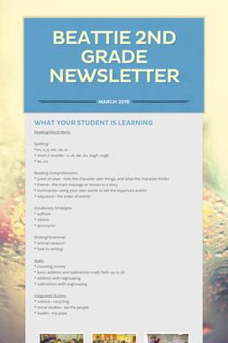 Beattie 2nd Grade newsletter