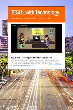 TESOL with Technology