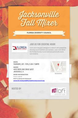 Jacksonville Fall Mixer