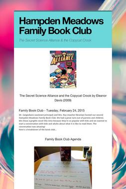 Hampden Meadows Family Book Club