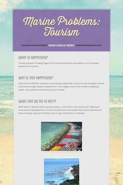 Marine Problems: Tourism