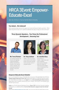 HRCA 3Event: Empower-Educate-Excel