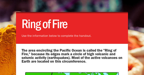 Ring of fire smore newsletters for education publicscrutiny Gallery